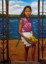 Girl at Lake Nicaragua