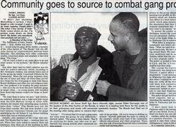 Social: Gangs, Cannoneer Newspaper