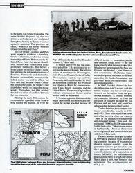 History: Peru & Ecuador Conflict pg2, SOLDIERS
