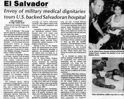 War: El Salvador, Tropic Times