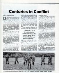 History: Peru & Ecuador Conflict pg1, SOLDIERS