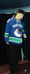 L,T Reppin his Vancouver Jersey