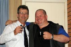 Ross Gibson and Darren Collier