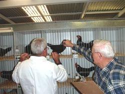 Bob Fowler & his steward Denny Wiley at work