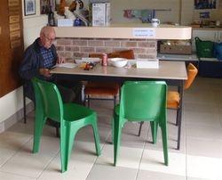 Ken Bergin our Secretary at work.