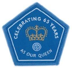 2017 Queen's 65th Anniversary cloth