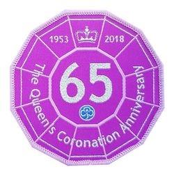 2018 Queen's 65th Coronation Anniversary cloth