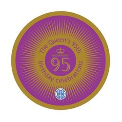 2020 Queen's 95th Birthday cloth