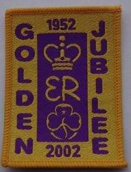 2002 Queen's Jubilee Cloth