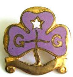 1918 onwards Extension Tenderfoot Badge