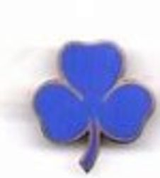 1968-1983 Blue 8-Point-Badge (year 4)