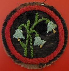 Bluebell Patrol Badge (felt)