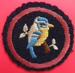 Bluetit Patrol Badge (felt)