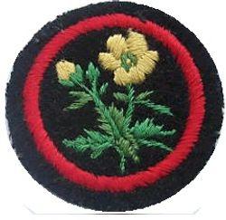 Buttercup Patrol Badge (felt)