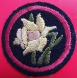 Daffodil Patrol Badge (felt)