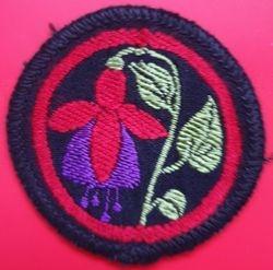 Fuchsia Patrol badge (woven)