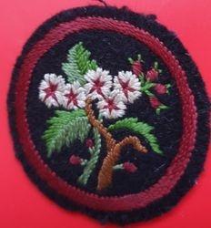 Hawthorn Patrol Badge (felt)