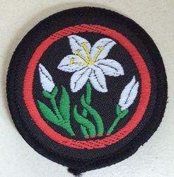 Lily Patrol Badge (woven)