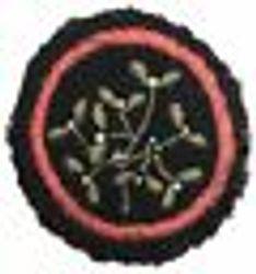 Mistletoe Patrol Badge (felt)