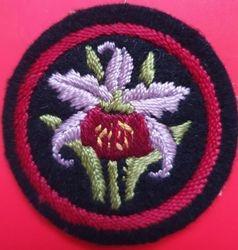 Orchid Patrol Badge (felt)
