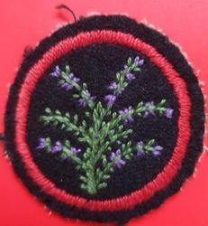 Purple Heather Patrol Badge (felt)