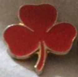 1968-1983 Red 8-Point-Badge (year 3)