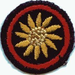 Sunflower Patrol Badge (felt)