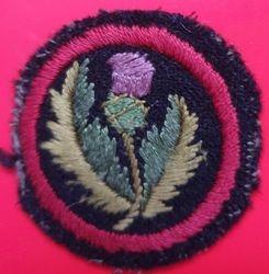 Thistle Patrol Badge (felt)