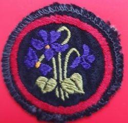 Violet Patrol Badge (woven)