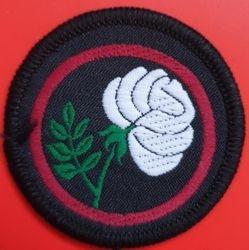 White Rose Patrol Badge (woven)