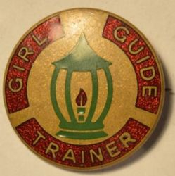 Girl Guide Trainer Badge