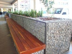 Gabion Bench & Planter