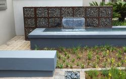 Gabion  Wall & Water Feature