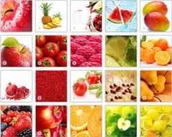 Fruit & Red & Yellow