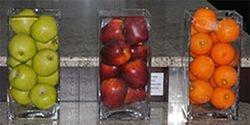 Apple Green & Red & Tangerine