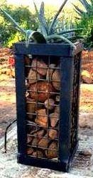 Gabion Pot or Wood Holder