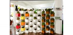 Living Green Wall Steel Partioning