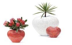 Heart Shape Vase & Pot Mosaic