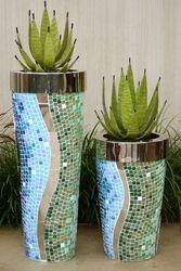 OB Round & SS Mirror Rim Mosaic