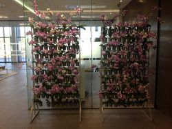 Living Green Wall Orchid Stand