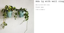 Ada Large With Ring Wall Mounted
