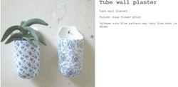 Tube Flower Print Wall Mounted