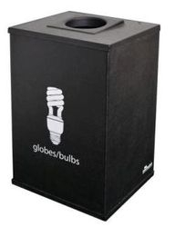 Recycle Bulbs Bin