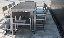 Patio Dining Stainless Steel