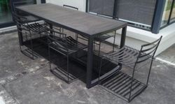 Steel Patio Dining Set