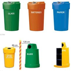 Plastic Bins Assorted