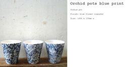 Orchid Blue Print