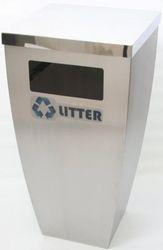 PL Aluminum Planter Tapered