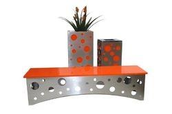 PL Swiss S/Steel Set - Bench, Pot & Bin