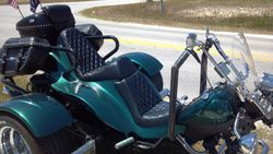 Diamond Pleated Seat On A Trike